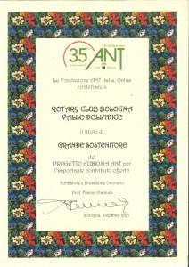 Attestato  35 ANT