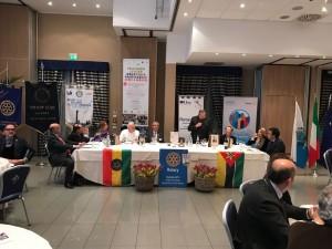 PDG Franco Venturi durante la Serata Celebrativa Global Grant, 8 Marzo presso Savoia Regency Hotel