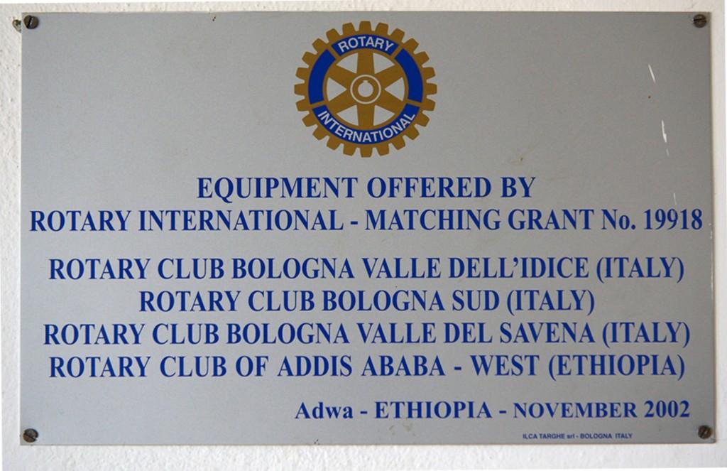 targa ADWA Global Grant laboratorio tessile
